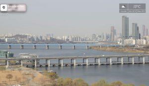 Мост «Фонтан радуги» в Сеуле