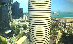 Побережье Сингапура из района Downtown Core