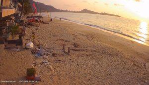 Пляж Ламаи на остров Самуи в Таиланде