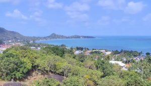 Панорама пляжа Ламай на острове Самуи