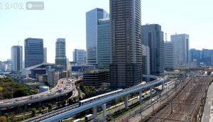 Cтанция Сиодомэ в Токио