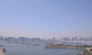 Искусственный остров Одайба в Токио