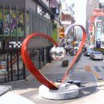 Центр города Бусан в Южной Корее