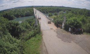 Ингурский мост в Абхазии