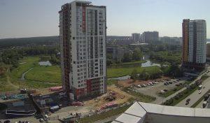 Строительство ЖК «Исетский» в Екатеринбурге