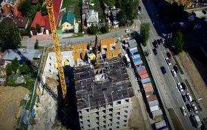 Строительство ЖК «Московский квартал» в Екатеринбурге