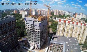 Строительство ЖК «AFI Tower» в Москве
