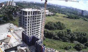 Строительство ЖК «Аквилон Митино» в Москве