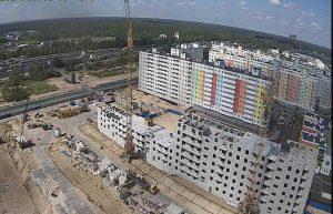 """Строительство ЖК """"Корабли"""" в Нижнем Новгороде"""