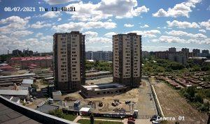 Строительство ЖК «Новые Снегири» в Новосибирске