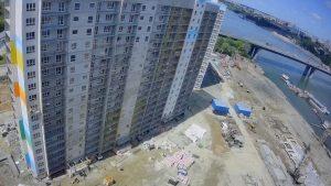 Строительство ЖК «Венеция-3» в Новосибирске