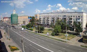 Ленинградская площадь в Омске