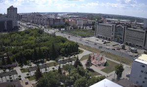 Улица Маршала Жукова в Омске