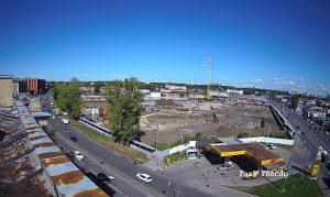 Строительство ЖК «ID Парк Победы» в Санкт-Петербурге