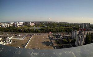 Панорама Железнодорожного района города Ульяновска