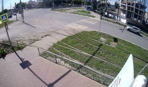 Перекресток улиц Кирова и Карсунская в Ульяновске