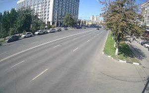 Улица Минаева в Ульяновске из дома №15