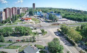Улица Шолмова в Ульяновске