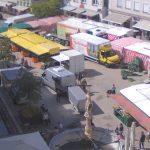 Рыночная Площадь города Биберах
