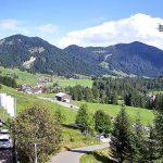 Вид из отеля «Bio-Berghotel Ifenblick» в Германии